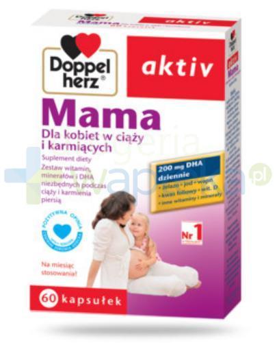 DoppelHerz Aktiv MAMA Dla kobiet w ciąży i karmiących 60 kapsułek