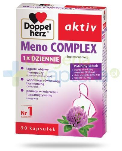 Doppelherz Aktiv Meno Complex 1x Dziennie 30 kapsułek  whited-out