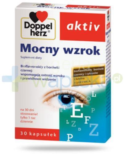 Doppelherz Aktiv Mocny wzrok 30 kapsułek