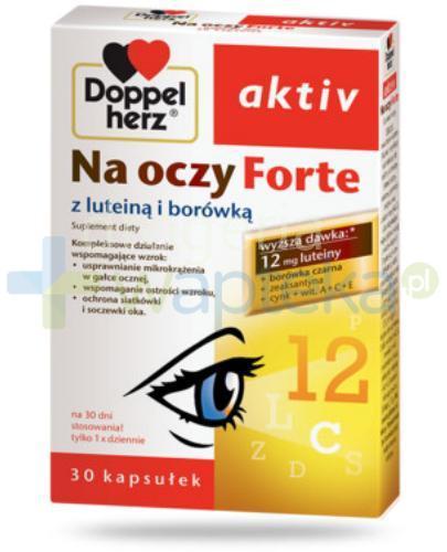 DoppelHerz Aktiv Na oczy Forte 30 kapsułek