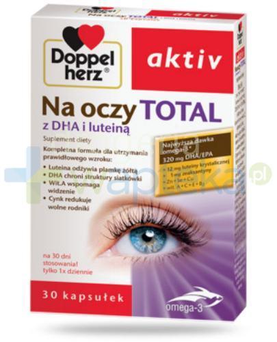 Doppelherz Aktiv Na oczy Total 30 kapsułek