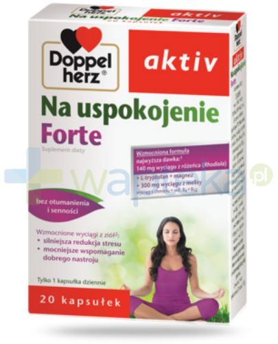 DoppelHerz Aktiv Na uspokojenie forte 20 kapsułek