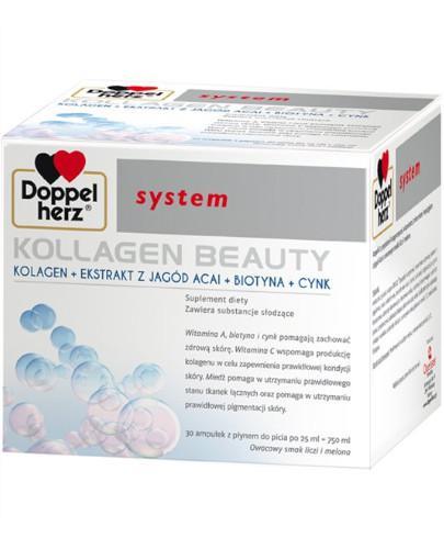 Doppelherz system kollagen beauty w ampułkach 30 sztuk