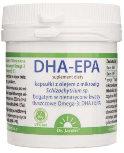 Dr Jacobs DHA-EPA 60 kapsułek