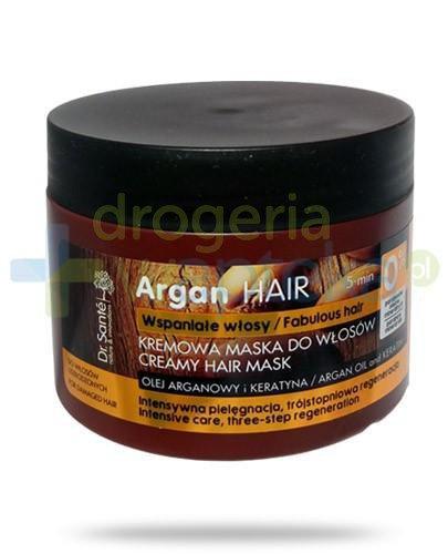 Dr. Sante Argan kremowa maska regenerująca do włosów z olejem arganowym i keraty...