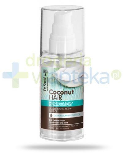 Dr. Sante Coconut Hair nawilżający olejek do włosów matowych i łamliwych 50 ml