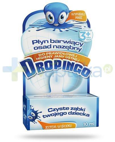 Dropingo płyn barwiący osad nazębny dla dzieci 3+ 10 ml