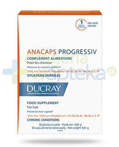 Ducray Anacaps Progressiv 30 kapsułek