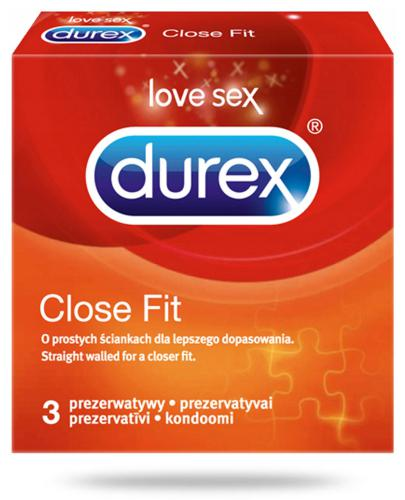 Durex Close Fit prezerwatywy 3 sztuki  whited-out