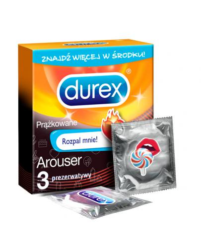 Durex Emoji Arouser prezerwatywy 3 sztuki