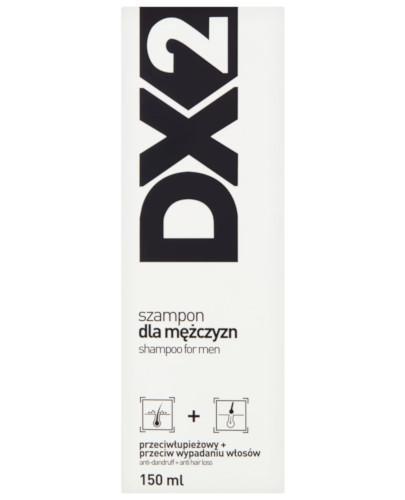 DX2 szampon dla mężczyzn przeciwłupieżowy + przeciw wypadaniu włosów 150 ml