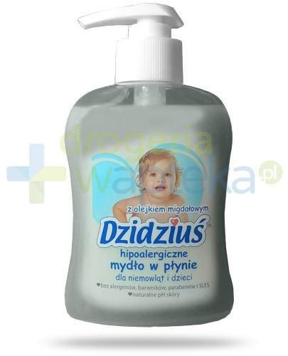 Dzidziuś hipoalergiczne mydło w płynie dla niemowląt i dzieci z olejkiem migdałowy...