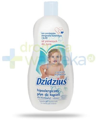 Dzidziuś hipoalergiczny płyn do kąpieli dla niemowląt i dzieci od pierwszych dni życi...