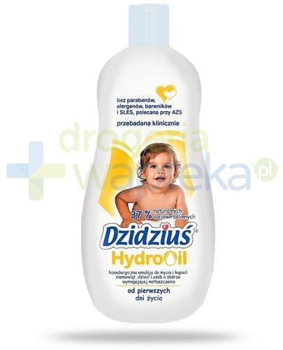 Dzidziuś HydroOil emulsja do mycia i kąpieli niemowląt i osób o skórze wymagającej n...  whited-out