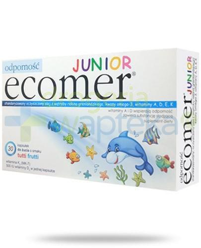 Ecomer Odporność Junior o smaku tutti frutti 30 kapsułek do żucia