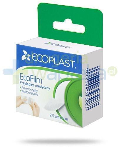 EcoPlast EcoFilm przylepiec medyczny polimerowy 2,5x 500cm z wieszakiem
