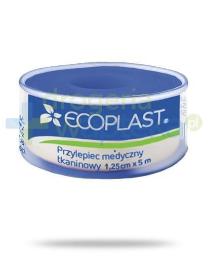 EcoPlast EcoFix Plus przylepiec medyczny tkaninowy 1,25x 500cm