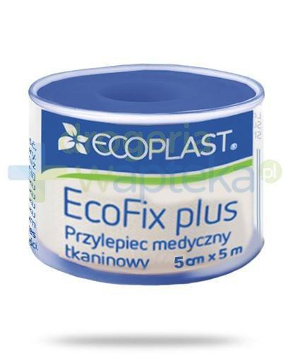 EcoPlast EcoFix Plus przylepiec medyczny tkaninowy 5x 500cm