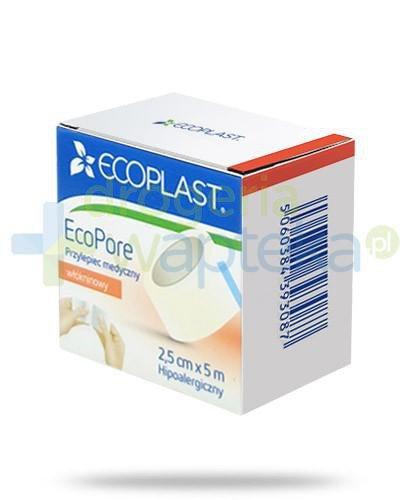 EcoPlast EcoPore przylepiec medyczny włókninowy 2,5x 500cm