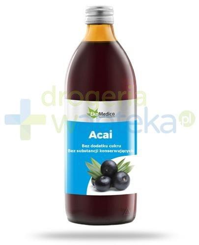 EkaMedica Acai sok pasteryzowany 500 ml