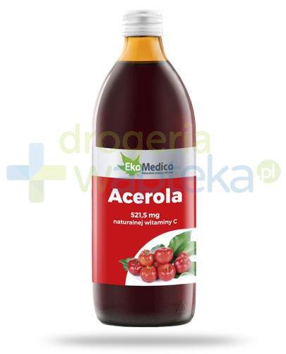 EkaMedica Acerola sok pasteryzowany 1000 ml