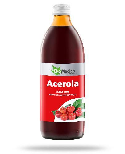 EkaMedica Acerola sok pasteryzowany 500 ml