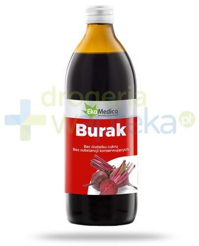 EkaMedica Burak sok pasteryzowany 1000 ml [20515]  whited-out