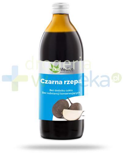 EkaMedica Czarna Rzepa sok pasteryzowany 500 ml