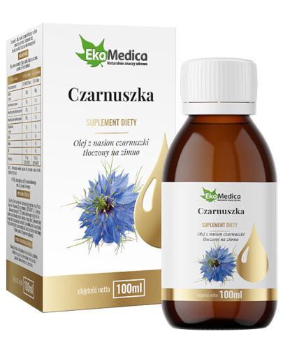 EkaMedica Czarnuszka olej z nasion czarnuszki tłoczony na zimno 100 ml