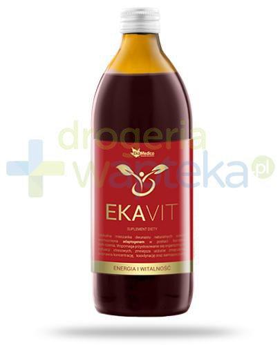 EkaMedica EkaVit Energia witalność sok pasteryzowany 1000 ml