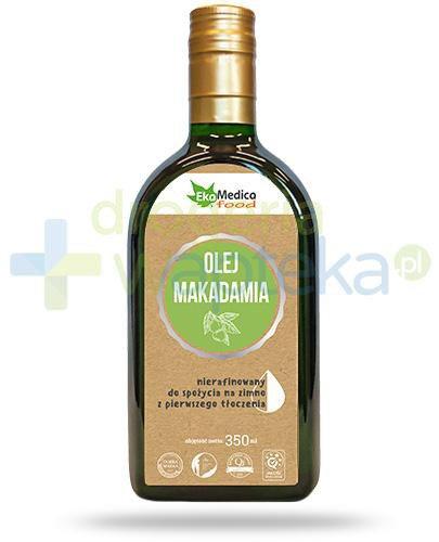 EkaMedica Food olej makadamia nierafinowany 350 ml
