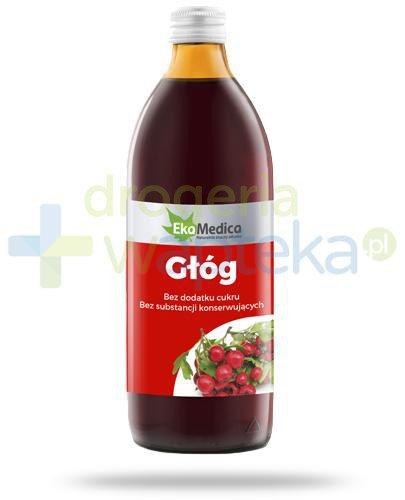 EkaMedica Głóg sok z owoców głogu pasteryzowany 1000 ml