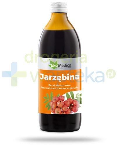 EkaMedica Jarzębina sok pasteryzowany 500 ml