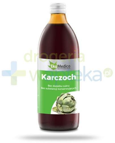 EkaMedica Karczoch sok pasteryzowany 500 ml