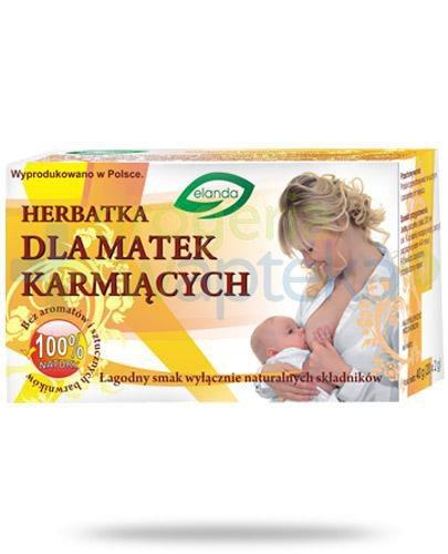 Elanda Herbatka dla matek karmiących ziołowo-owocowa 20 saszetek