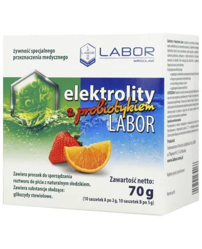 Elektrolity z Probiotykiem Labor 70 g