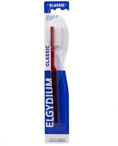 ELGYDIUM Classic klasyczna szczoteczka do zębów miekka 1 sztuka