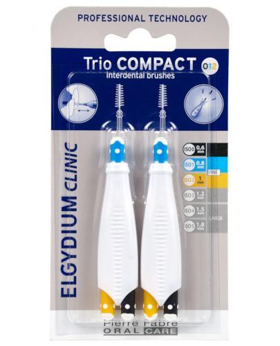 ELGYDIUM CLINIC Trio Compact 012 szczoteczka międzyzębowa 6 sztuk