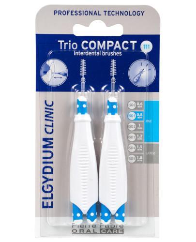 ELGYDIUM CLINIC Trio Compact 111 szczoteczka międzyzębowa 6 sztuk