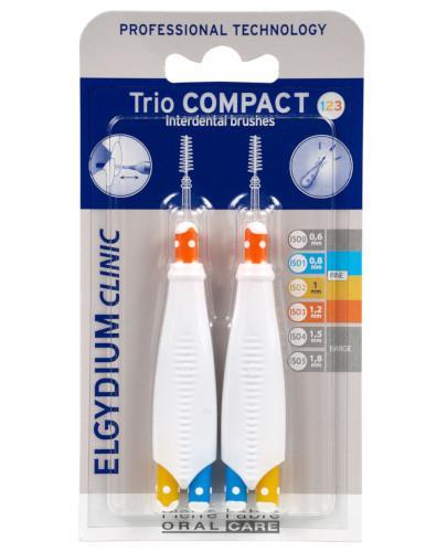 ELGYDIUM CLINIC Trio Compact 123 szczoteczka międzyzębowa 6 sztuk