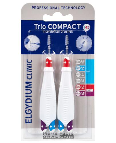 ELGYDIUM CLINIC Trio Compact 145 szczoteczka międzyzębowa 6 sztuk