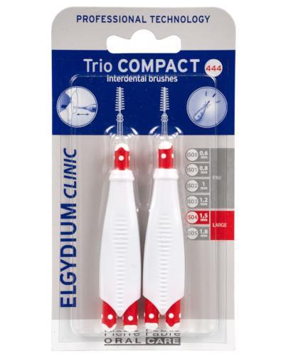 ELGYDIUM CLINIC Trio Compact 444 szczoteczka międzyzębowa 6 sztuk