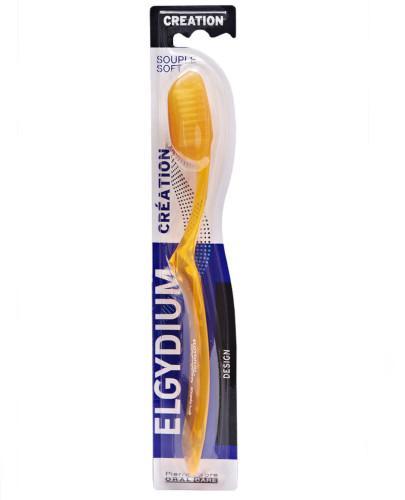 Elgydium Creation Neon szczoteczka do zębów Soft 1 sztuka