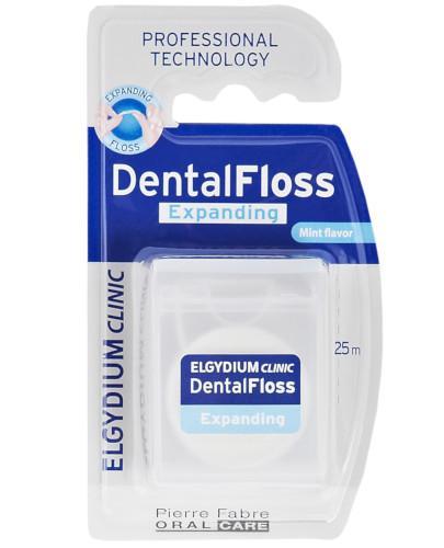 Elgydium Dental Floss Nić dentystyczna pęczniejąca 25m