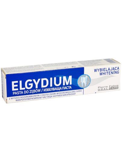 Elgydium Whitening pasta wybielająca do zębów 75 ml  whited-out
