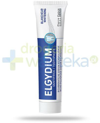 Elgydium Whitening wybielająca pasta do zębów 50 ml  whited-out