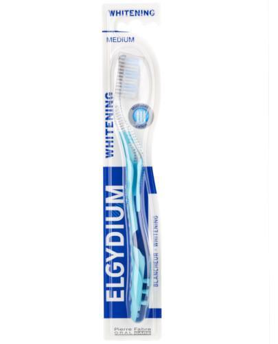 ELGYDIUM Whitening wybielająca szczoteczka do zębów średnia 1 sztuka