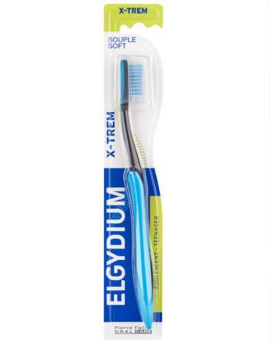 ELGYDIUM Xtrem szczoteczka do zębów młodzieżowa miękka 1 sztuka