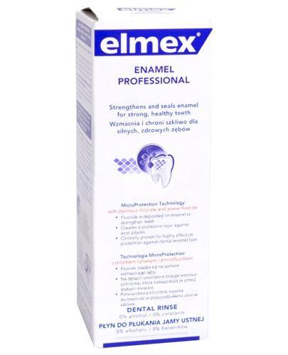 Elmex Enamel Professional płyn do płukania jamy ustnej 400 ml