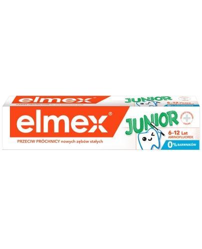 Elmex Junior pasta do zebów dla dzieci 6-12 lat 75 ml